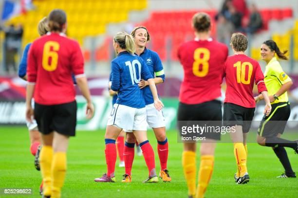 Camille ABILY / Sandrine SOUBEYRAND France / Belgique Match Amical Preparation a la Coupe du Monde Stade de L'EpopeeCalais