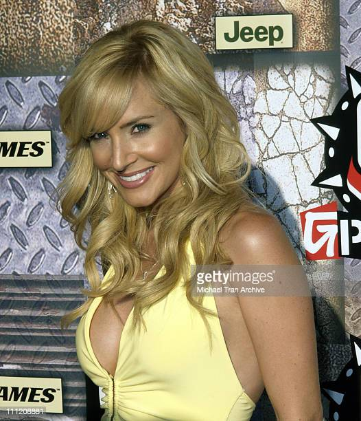 Camille Anderson during GPhoria 2005 The Mother of All Videogame Award Shows Arrivals at Los Angeles Center Studios in Los Angeles California United...