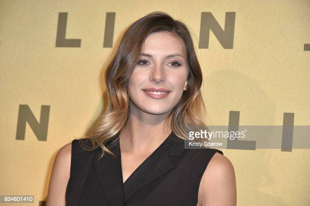 Camille Cerf attends the 'Lion' Paris Premiere at Cinema Gaumont Opera on February 10 2017 in Paris France