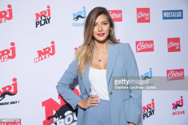 Camille Cerf attends the NRJ's Press Conference to Announce Their Schedule for 2017/2018 on September 21 2017 in Paris France