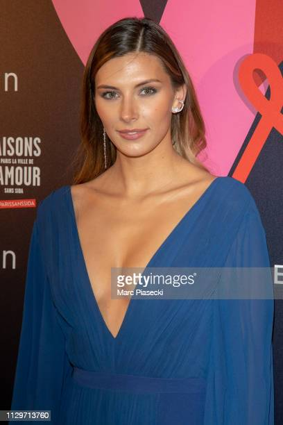 Camille Cerf attends the 'Par Amour' charity gala at Mairie de Paris on February 14, 2019 in Paris, France.