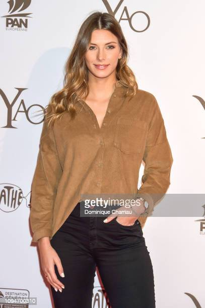 """Camille Cerf attends the """" YAO """" Paris Premiere at Le Grand Rex on January 15, 2019 in Paris, France."""