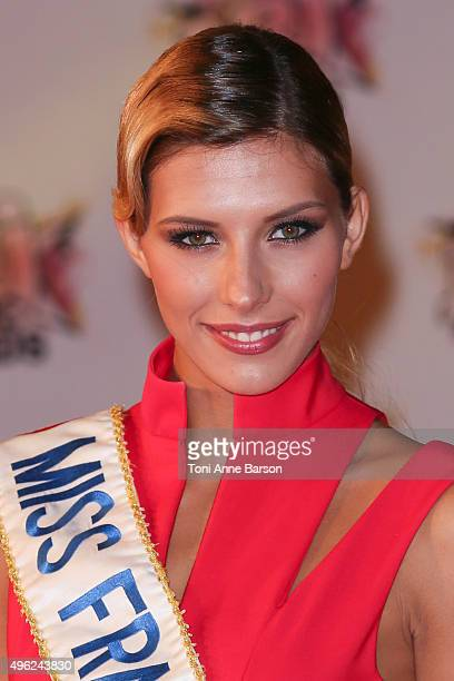 Camille Cerf attends the17th NRJ Music Awards at Palais des Festivals on November 7 2015 in Cannes France