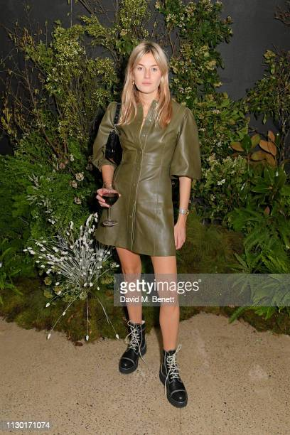 Camille Charriere attends a private dinner to celebrate the launch of the new ALEXACHUNG x Sunglass Hut eyewear collection at Wild by Tart on...