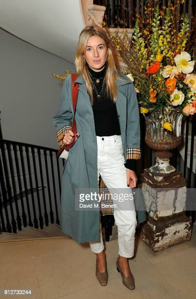 Camille Charriere attends an event to celebrate 'Be Cool Be Nice' on January 31 2018 in London England