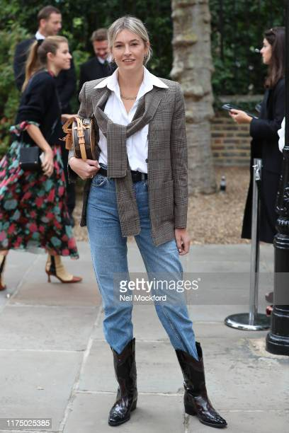 Camille Charriere attends Erdem at Gray's Inn Gardens during LFW September 2019 on September 16 2019 in London England