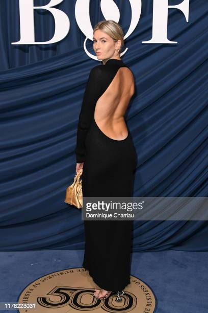 Camille Charriere attends The Business Of Fashion Celebrates The #BoF500 2019 at Hotel de Ville on September 30, 2019 in Paris, France.