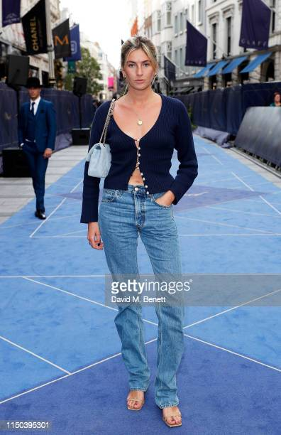 Camille Charriere attends the Chopard Bond Street Boutique reopening cocktail on June 17 2019 in London England