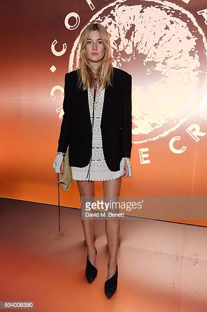 Camille Charriere attends the Cointreau Creative Crew Award Ceremony at Liberty London on May 24 2016 in London England