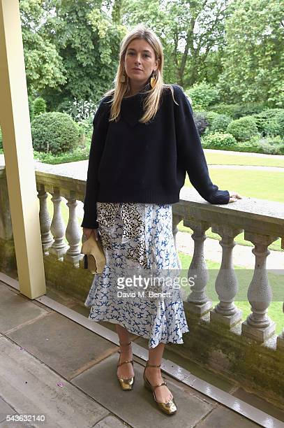 Camille Charriere attends the Creatures of the Wind Resort 2017 collection and runway show presented by Farfetch at Spencer House on June 29 2016 in...