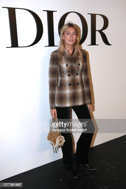 Camille Charriere attends the Dior Womenswear Spring/Summer 2021 show as part of Paris Fashion Week on September 29, 2020 in Paris, France.
