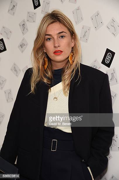 Camille Charriere attends the LiudMila Pre Spring 17 Presentation hosted by Leandra Medine on June 1 2016 in London England