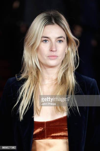 Camille Charriere attends the 'Murder On The Orient Express' World Premiere at Royal Albert Hall on November 2 2017 in London England