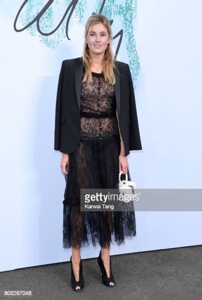 Camille Charriere attends The Serpentine Gallery Summer Party at The Serpentine Gallery on June 28 2017 in London England