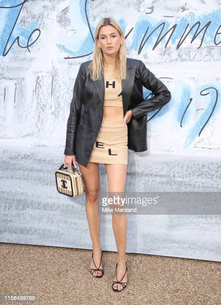 Camille Charriere attends The Summer Party 2019 Presented By Serpentine Galleries And Chanel at The Serpentine Gallery on June 25 2019 in London...