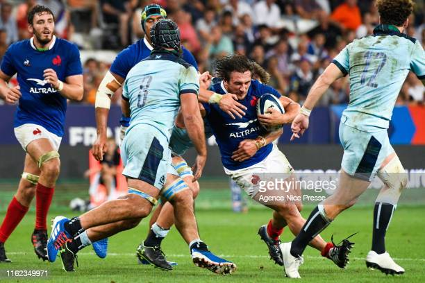 Camille Chat of France during the test match between France and Scotland on August 17 2019 in Nice France