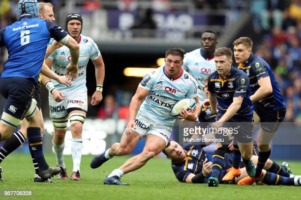 Camille Chat of Racing 92 during the European Champions Cup Final match between Leinster and Racing 92 at San Mames Stadium on May 12 2018 in Bilbao...