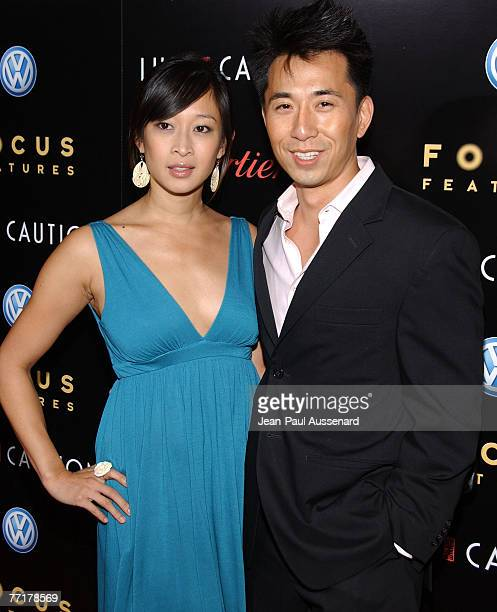 Camille Chen and John Lee arrive at the Lust Caution Los Angeles premiere held at the Academy of Motion Picture Arts and Sciences on October 3rd 2007...