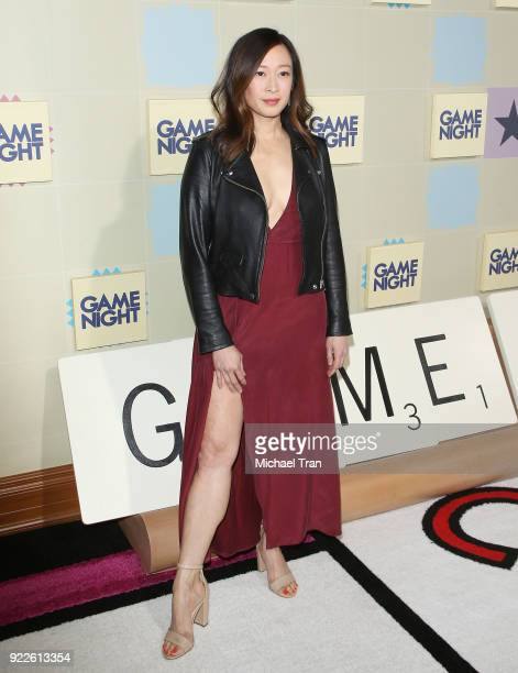 Camille Chen arrives to New Line Cinema and Warner Bros Pictures' Game Night Premiere held at TCL Chinese Theatre on February 21 2018 in Hollywood...
