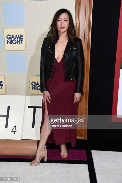 Camille Chen attends the premiere of New Line Cinema and Warner Bros Pictures' Game Night at TCL Chinese Theatre on February 21 2018 in Hollywood...