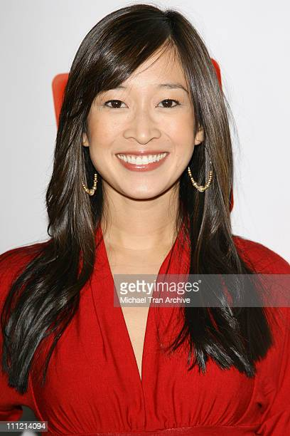 Camille Chen during The SeenOnCom Launch Party Arrivals at Boulevard3 in Hollywood California United States