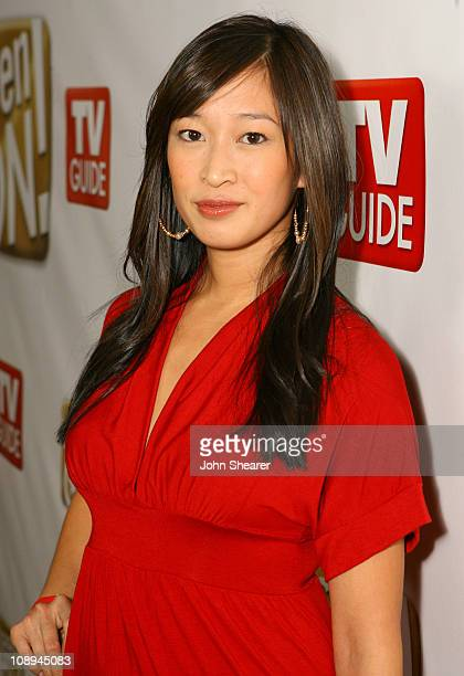 Camille Chen during The SeenONcom Launch Party Red Carpet at Boulevard3 in Los Angeles California United States