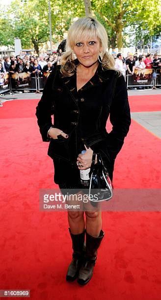 Camille Coduri arrives at the UK film premiere of Adulthood at the Empire Cinema Leicester Square on June 17 2008 in London England