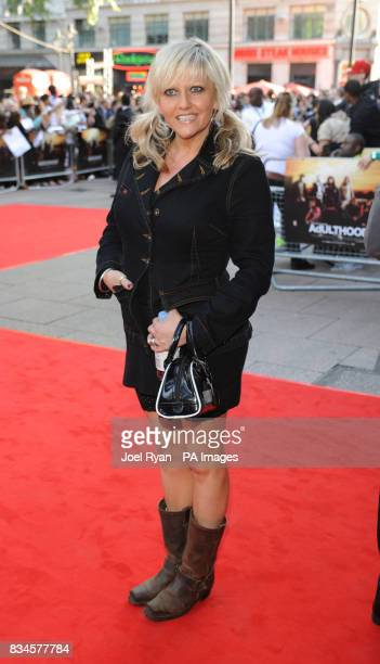 Camille Coduri arrives for the World Premiere of Adulthood at the Empire Leicester Square in central London