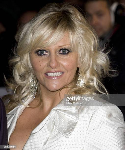 Camille Coduri At The National Tv Awards At The Royal Albert Hall In London