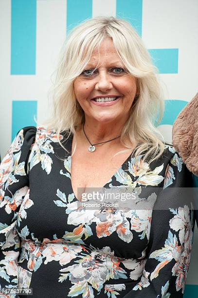 Camille Coduri attends a photocall for 'Scottish Mussel World Premiere' during the Edinburgh International Film Festival 2015 at Filmhouse on June 26...