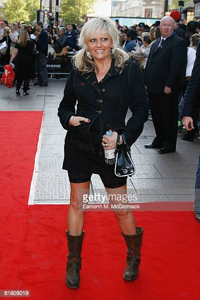 Camille Coduri attends the 'Adulthood' UK Film Premiere held at the Empire Leicester Square on June 17 2008 in London England