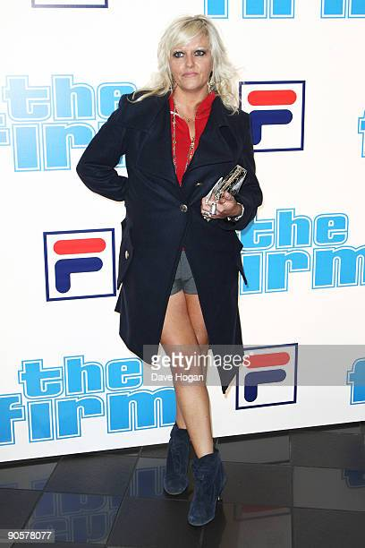 Camille Coduri attends 'The Firm' UK premiere held at the Vue West End on September 10 2009 in London England