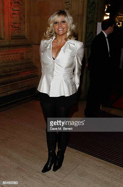 Camille Coduri attends the National Television Awards 2008 at the Royal Albert Hall on October 29 2008 in London England