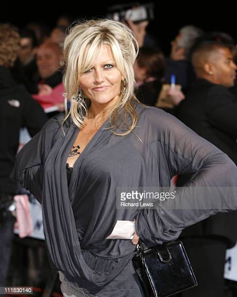 Camille Coduri during 12th Anniversary National Television Awards Arrivals at Royal Albert Hall in London Great Britain