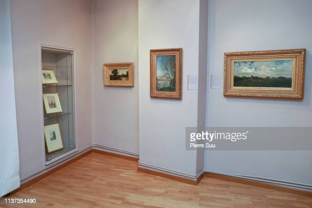 Camille Corot Exhibition at the Daubigny museum on March 21 2019 in AuverssurOise France