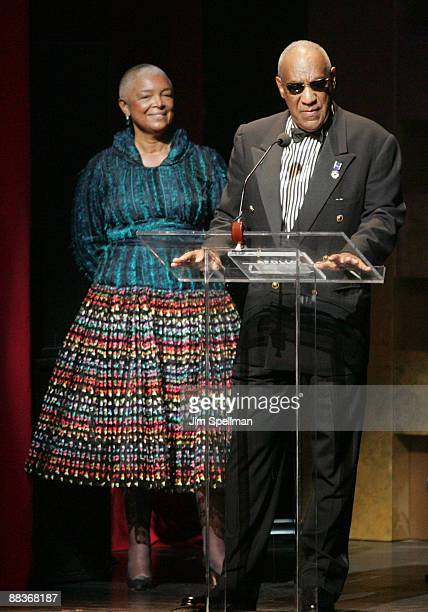 Camille Cosby and Bill Cosby attend the Apollo Theater's 75th Anniversary gala at The Apollo Theater on June 8 2009 in New York City