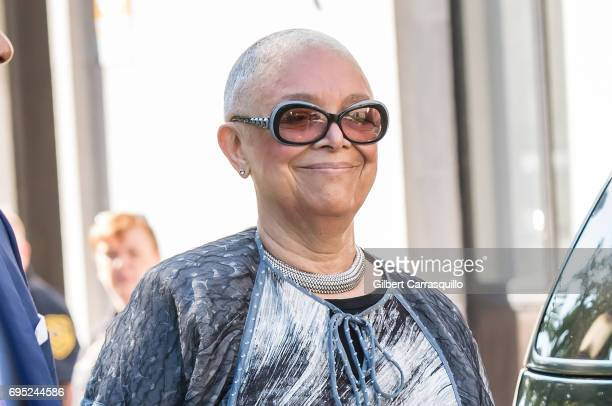 Camille Cosby arrives at Bill Cosby Trial at Montgomery County Courthouse on June 12 2017 in Norristown Pennsylvania