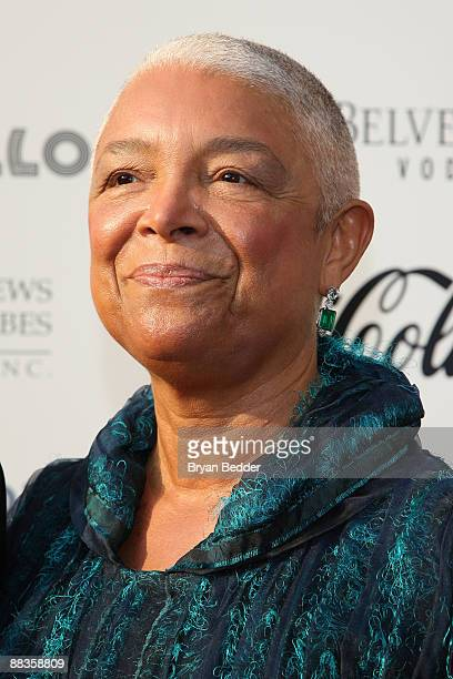 Camille Cosby attend the Apollo Theater 75th Anniversary Gala at The Apollo Theater on June 8 2009 in New York City