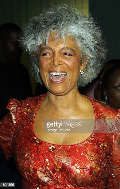 Camille Cosby attends the Essence Awards April 27 2001 at the Theatre at Madison Square Garden in New York City