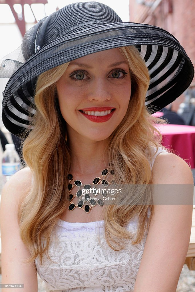 Camille Cothron attends Kentucky Derby Festival Pegasus Parade staging area at Louisville Stoneware on May 2, 2013 in Louisville, Kentucky.