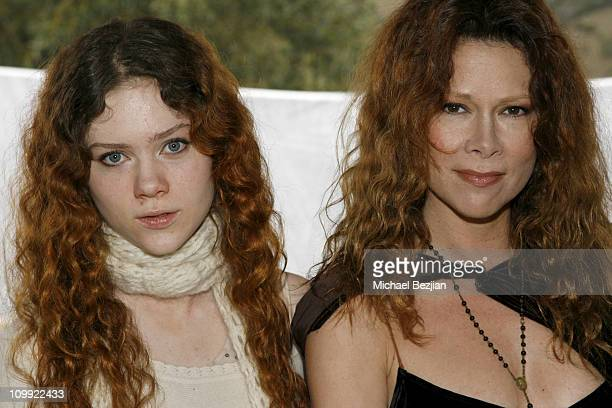 Camille Cregan and Jane Booke during THE HOUSE OF FLAUNT OSCAR RETREAT Day 4 at Private Residence in Los Angeles CA United States