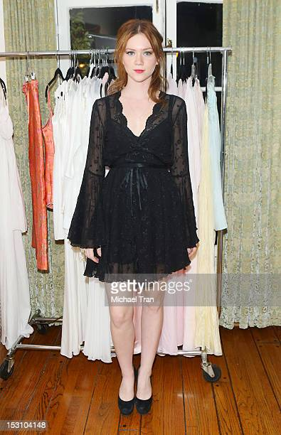 Camille Cregan attends the Jane Booke clothing and fragrance line launch party for Taken held at a private residence on September 29 2012 in Los...