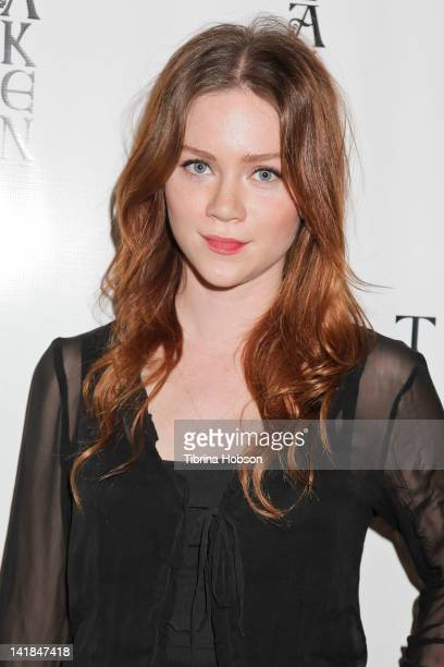 Camille Cregan attends the launch party for TAKEN Scented Candle by Jane Booke on March 24 2012 in Beverly Hills California