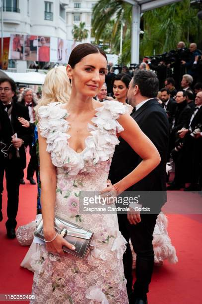 Camille Demoustier attends the screening of A Hidden Life during the 72nd annual Cannes Film Festival on May 19 2019 in Cannes France