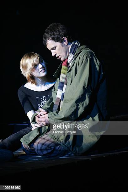 Camille Driscoll and Stephen Shareaux during Quadrophenia Musical Theatre Performance at The Avalon in Hollywood California United States