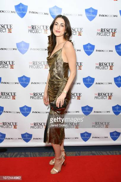 Camille Fishel attends Vision 2020 BALL By The Rescue Project / Haven Hands Inc on December 12 2018 in New York City