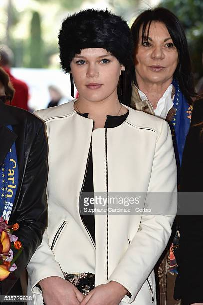 Camille Gottlieb attends the 39th International Circus Festival of MonteCarlo on January 18 2015 in Monaco