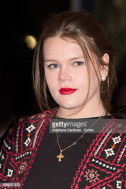 Camille Gottlieb attends the 39th International Circus Festival of MonteCarlo on January 17 2015 in Monaco