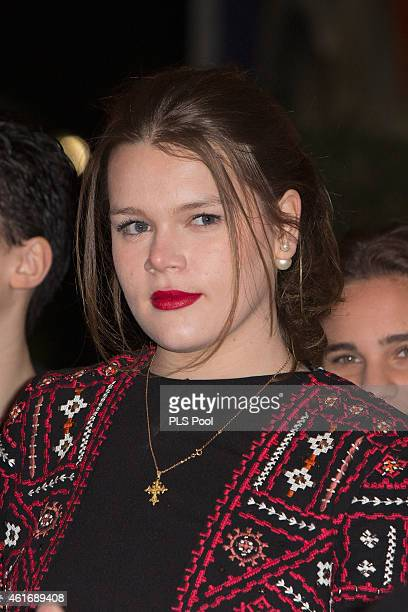 Camille Gottlieb attends the 39th International Monte Carlo Circus Festival on January 17 2015 in Monaco Monaco