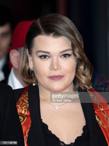 Camille Gottlieb attends the 44th International Circus Festival on January 21 2020 in Monaco Monaco